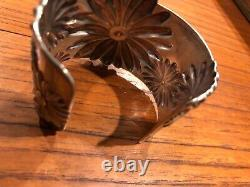 2003 Tiffany & Co. Daisy Cuff Bracelet in Sterling Silver and Gold