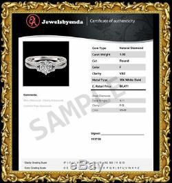 3.25 CT Round Cut Sim Diamond Tennis 7 Bracelet 14K White Gold Fn