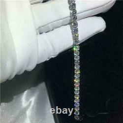 6Ct Diamond Women Tennis Bracelet 14k White Gold Over 925 Sterling Silver 8 Inch