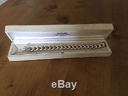 Auth Hermes Unisex Sterling Silver Bracelet