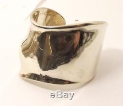 Auth Tiffany & Co Sterling Silver Bone Cuff Bracelet Elsa Peretti Freeform