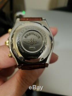Breitling Chronomat B13050.1 SS/18K gold automatic chronograph men's watch
