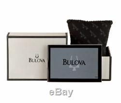 Bulova 98B177 Men's Marine Star Dress Stainless Steel Silver-Tone Date Watch