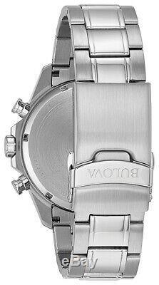 Bulova Marine Star Men's Chronograph Six Hand Calendar 43 mm Watch 96B255