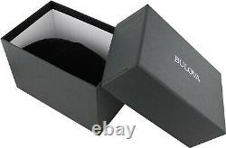 Bulova Women's Quartz Diamond Accents Black Mother of Pearl 24mm Watch 96P169