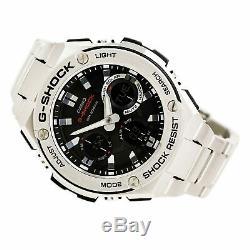 Casio Men's Watch G-Shock Ana-Digi Dial Stainless Steel Bracelet GSTS110D-1A
