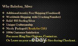 Cuban Link 925 Sterling Silver Turquoise Stone Heavy Men's Bracelet 8.25 inch