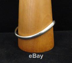 Danish Georg Jensen Sterling Silver Bangle Bracelet Designed By Astrid Fog, 237A