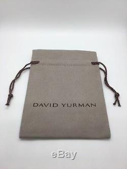 David Yurman Cable Classic Bracelet with Blue Topaz and 14K Gold 5mm