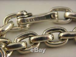 David Yurman Chain Oval Link Bracelet in Sterling Silver, 11mm, 8.5inch