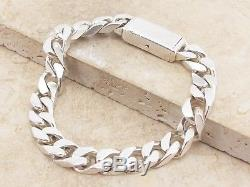 GUCCI Sterling Silver 925 Heavy Curb Link Bracelet