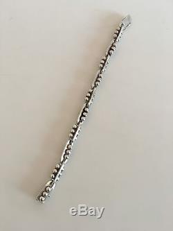 Georg Jensen Sterling Silver Art Deco Bracelet No 68B
