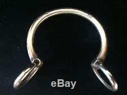 Hermes Nausicaa Bracelet in Sterling Silver