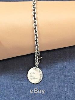 Jeanine Payer Sterling Silver Charm Bracelet Rare