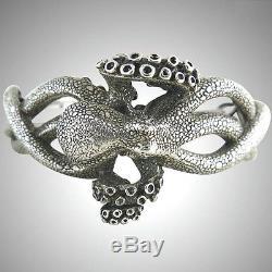 Kabana Jewelry Octopus Sterling Silver Cuff Bracelet br321