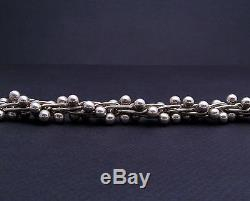 MINT! SILPADA 925 Sterling Silver DNA BALL LINK TOGGLE CLASP BRACELET! B0523