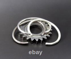 Mens Gents Solid Sterling Silver Open Vintage Matt Look Torque Bangle Bracelet