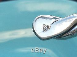 Mint! Shiny! Silpada. 925 Sterling Silver Twisted Cuff Bangle Bracelet. B0014