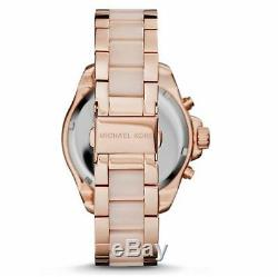 New Genuine Michael Kors Mk6096 Wren Crystal Rose Gold Ladies Watch Uk