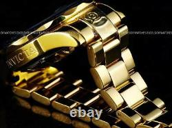 New Invicta Men 300M Grand Diver NH35A Automatic 18K Gold IP High Polished Watch