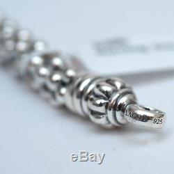 New LAGOS Bold Caviar Sterling Silver 7mm Bracelet 7.75 NWT