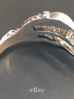 Pamela Love Large Men's Sterling Silver Talon Cuff