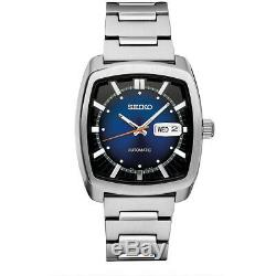 Seiko Mens Recraft Series Automatic Self-Winding Watch in Silver SNKP23