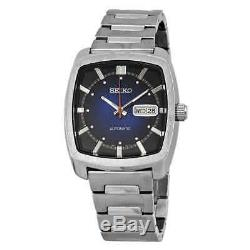 Seiko Recraft Automatic Blue Dial Stainless Steel Men's Watch SNKP23