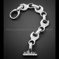 Spanner Bracelet Wrench Bracelet. Unusual, Unique Solid 925 Sterling Silver