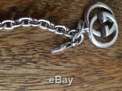 Sterling silver gucci bracelet