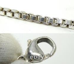 TIFFANY&Co Venetian Link Bracelet Sterling Silver 925 USED