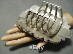 The Biggest And Best Vintage Zuni Sterling Silver Bracelet On The Internet