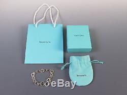 Tiffany & Co. 18K Yellow Gold & Sterling Silver Multi Circle Link 7 Bracelet