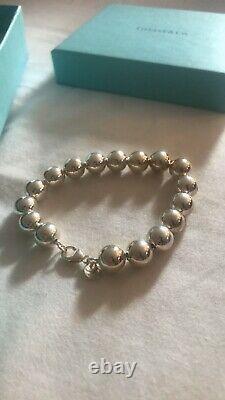 Tiffany & Co Bead Ball Bracelet Sterling Silver