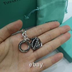 Tiffany & Co. Heart Tag Toggle Chain Bracelet 7.5 Sterling Silver Bracelet