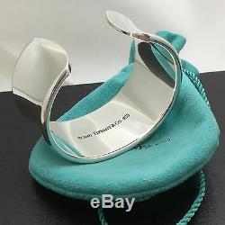 Tiffany & Co Sterling Silver 1837 Extra Wide Cuff Bracelet