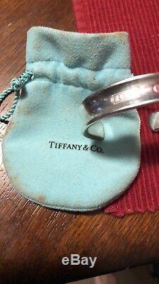 Tiffany & Co. Sterling Silver 925 1837 Cuff Bracelet