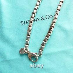 Tiffany & Co. Venetian Link Bracelet Sterling Silver 925 19.5cm