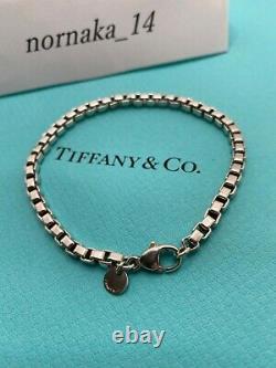 Tiffany & Co. Venetian Link Bracelet Sterling Silver 925 No BOX from Japan