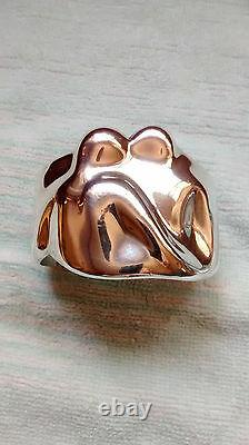 Tiffany Elsa Peretti dated 1982 Sterling Silver Cuff Bracelet RARE 925